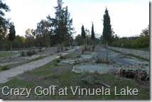 Crazy Golf at Vinuela Lake