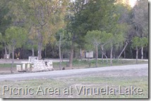 Picnic Area at Vinuela Lake